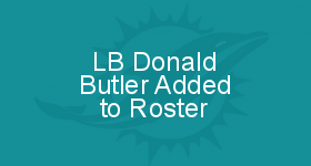 LB Donald Butler Added to Roster